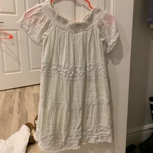 American eagle off the shoulder dress - XS